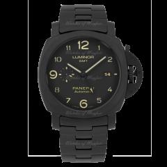 PAM01438 | Panerai Tuttonero Luminor GMT 44mm watch. Buy Online