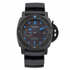 PAM00960 | Panerai Submersible Carbotech™ 42mm watch. Buy Online