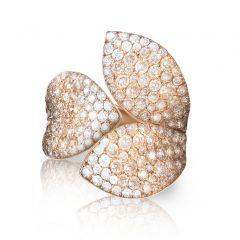15085R | Buy Pasquale Bruni Giardini Segreti Rose Gold Diamond Ring
