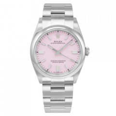 126000 | Rolex Oyster Perpetual Candy Pink Dial Oyster Bracelet 36mm watch. Buy Onlime