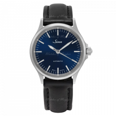 556.0104 X33 | Sinn 556 I B Instrument Sporty and Stylish Blue Dial Black Leather 38.5 mm watch. Buy Online