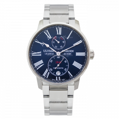 1183-310-7M/43   Ulysse Nardin Marine Torpilleur 42 mm watch. Buy Now