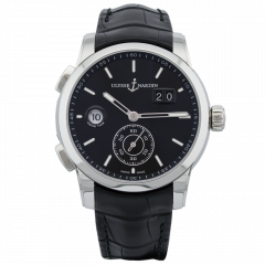3343-126/92 | Ulysse Nardin Dual Time Manufacture 42 mm watch. Buy Now