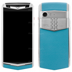 VERTU Aster P Gentleman Blue Calf. Buy new authentic VERTU Aster P mobile phone in London, England, UK supplied from Official Retailer