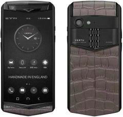VERTU Aster P Gothic Titanium Black Calf Jade Black - Blacksmith Grey Alli BES Fee. Buy new authentic VERTU mobile phone in London, England, UK supplied from Official Retailer