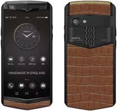 VERTU Aster P Gothic Titanium Black Calf Jade Black - Cinnamon Alli BES Fee. Buy new authentic VERTU mobile phone in London, England, UK supplied from Official Retailer