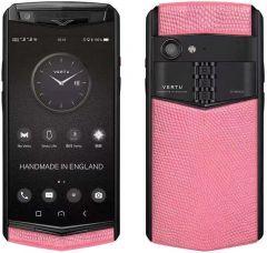 VERTU Aster P Gothic Titanium Black Calf Jade Black - Peach Pink Lizard BES Fee. Buy new authentic VERTU mobile phone in London, England, UK supplied from Official Retailer