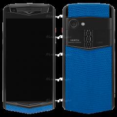 VMF759H9CN1CC0 / VT-F759H9CN1CC0-23 | VERTU Aster P Gothic Titanium Black Calf Jade Black - Dazzling Blue Lizard BES Fee. Buy VERTU Aster P mobile phone in London, England, UK supplied from Official Retailer