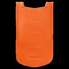 Vertu Aster P Slip Calf Orange Leather Case 004-00004-002-04