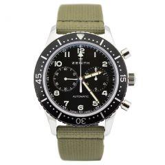 Zenith Cronometro Tipo CP-2 03.2240.4069/21.C803 New Authentic Watch