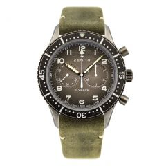 11.2240.405/21.C773   Zenith Pilot Cronometro Tipo CP-2 Flyback watch.