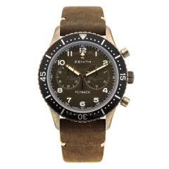 29.2240.405/18.C801   Zenith Pilot Cronometro Tipo CP-2 Flyback watch.