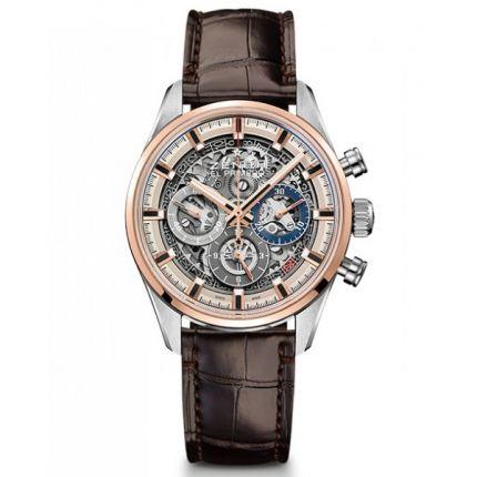 Zenith El Primero Full Open 51.2151.400/78.C810. Watches of Mayfair
