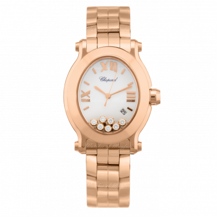 Chopard Happy Sport Oval 275350-5002. Watches of Mayfair E-Boutique