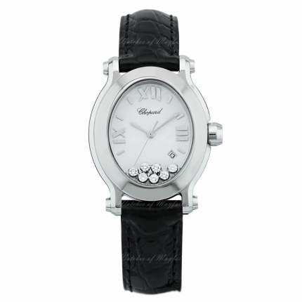 Chopard Happy Sport Oval 278546-3001. Watches of Mayfair E-Boutique