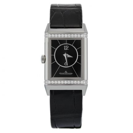 New Jaeger-LeCoultre Reverso Classic Small Duetto 2668430 - Back Dial