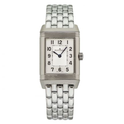 Jaeger-LeCoultre Reverso Classic Small Duetto 2668130 - Front dial