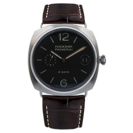 Panerai Radiomir 8 Days Titanio PAM00346. Watches of Mayfair London