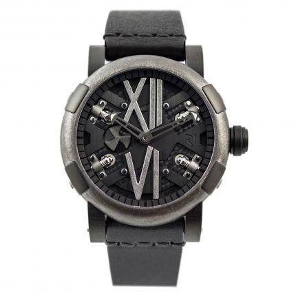 Romain Jerome Steampunk 46 Gunmetal Black RJ.T.AU.SP.007.01 watch
