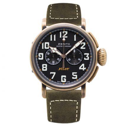 Zenith Type 20 Chronograph Extra 29.2430.4069/21.C800. New Watch
