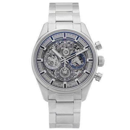 Zenith El Primero Full Open 03.2153.400/78.M2150. Watches of Mayfair