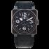 BR0392-BL-CE | Bell & Ross BR 03-92 Black matte 42 mm watch. Buy Now